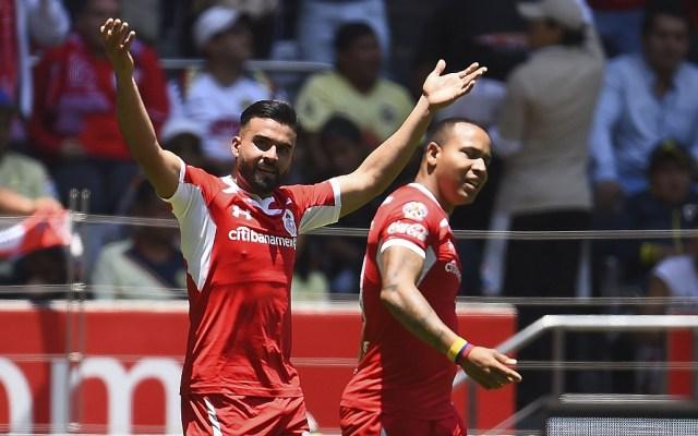 Toluca derrota al América en casa y sueña con liguilla - Foto de Mexsport