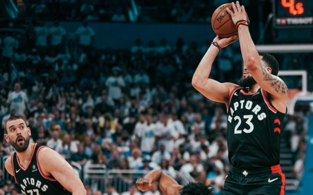 Toronto Raptors adelanta a los Orlando Magic en los playoffs de la NBA - Foto de @Raptors