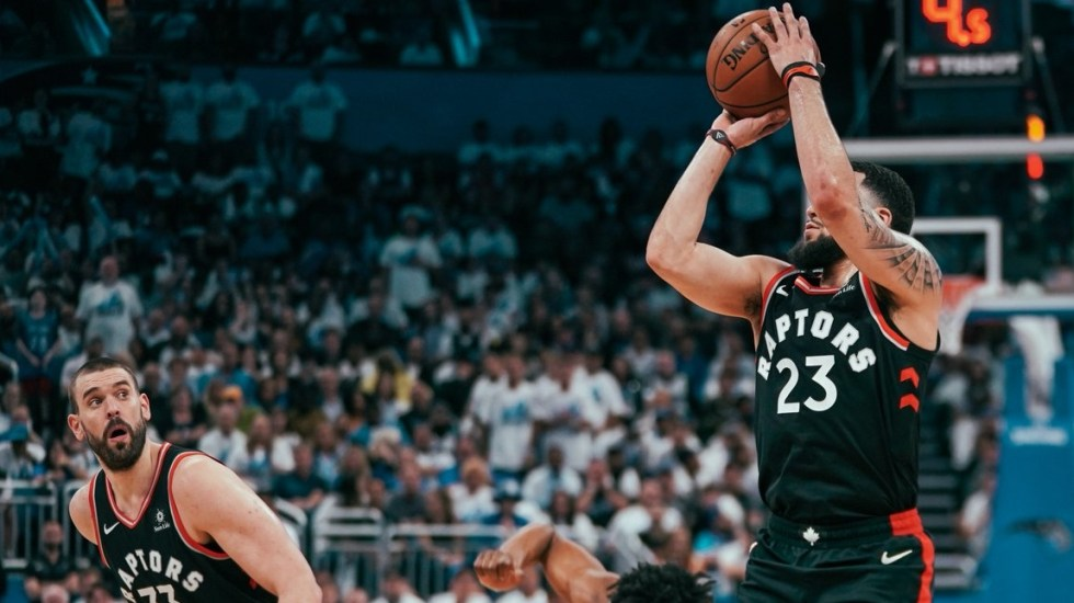 Toronto Raptors adelanta a los Orlando Magic en los playoffs de la NBA - Foto de @Raptors
