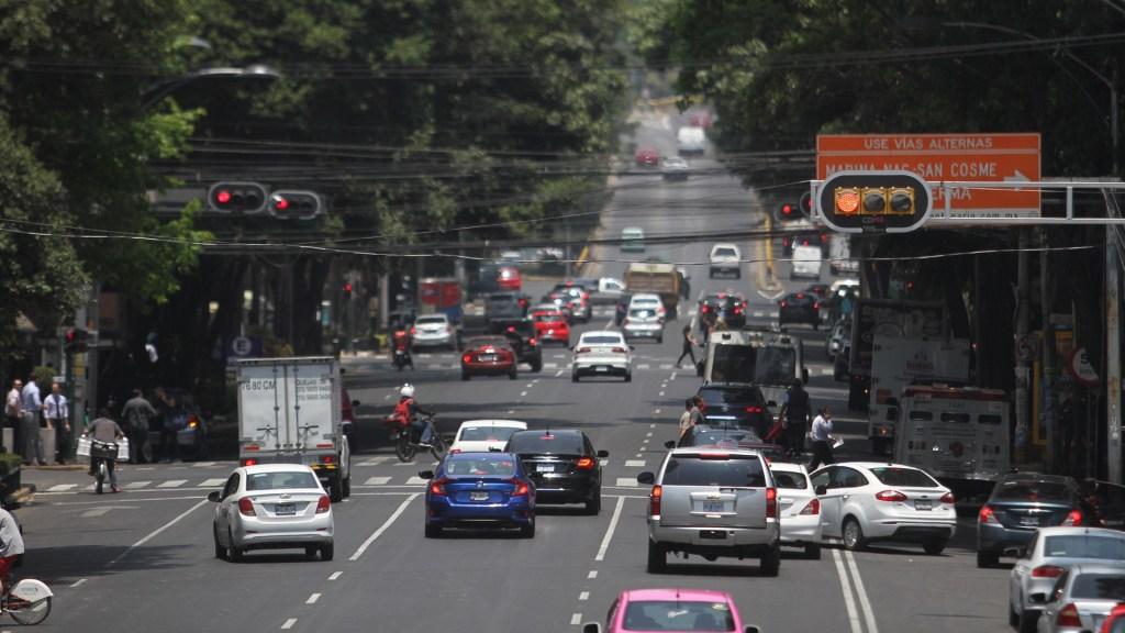 Se suspende doble Hoy No Circula este viernes en el Valle de México; prevén mejor dispersión de contaminantes - Tránsito de la Ciudad de México. Foto de Notimex