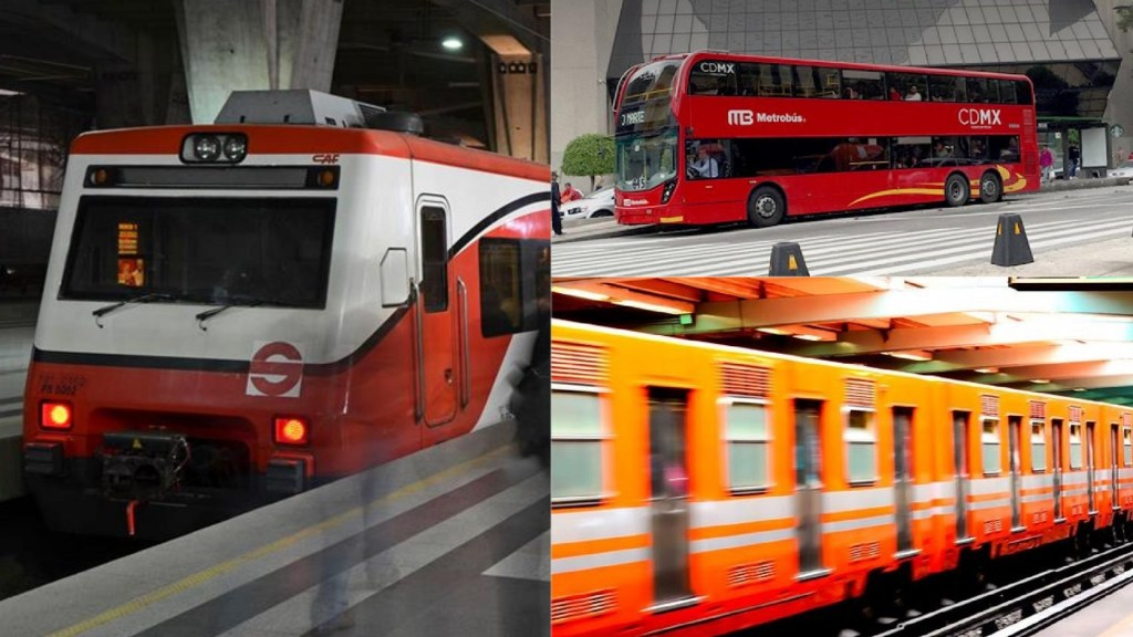 Transporte público operará con horario especial en Días Santos - Transporte público del Valle de México. Foto de LDD