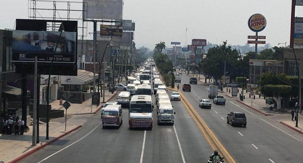 """Transportistas en Chiapas exigen erradicación de la """"piratería"""" - Transportistas Chiapas Tuxtla Gutiérrez"""
