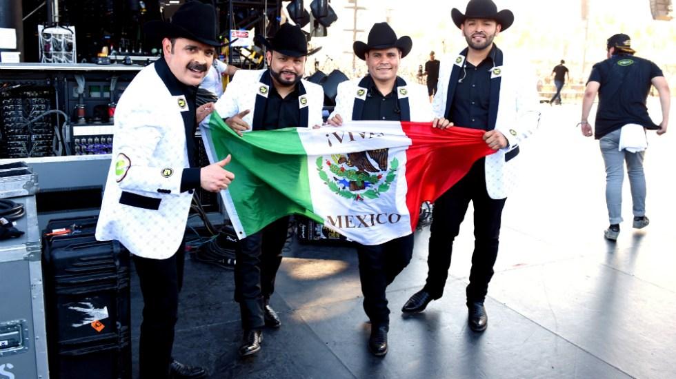 Los Tucanes de Tijuana prenden Coachella 2019 - Foto de AFP