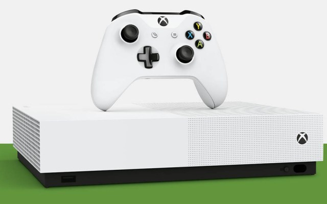 Microsoft presenta la Xbox One S All-Digital Edition - Microsoft
