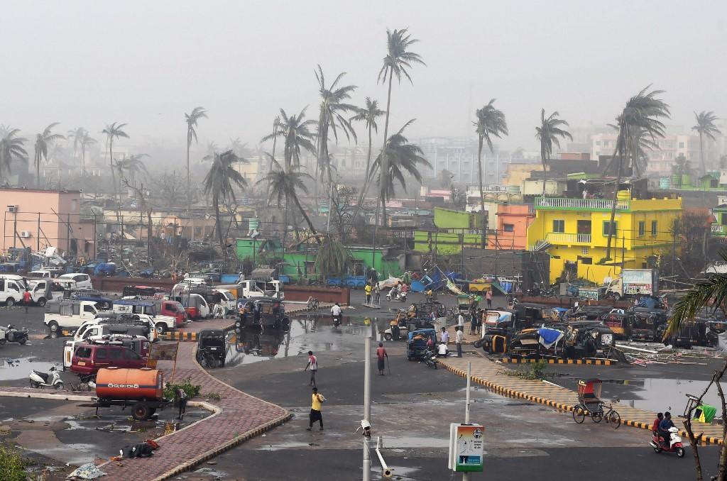 ciclón fani india