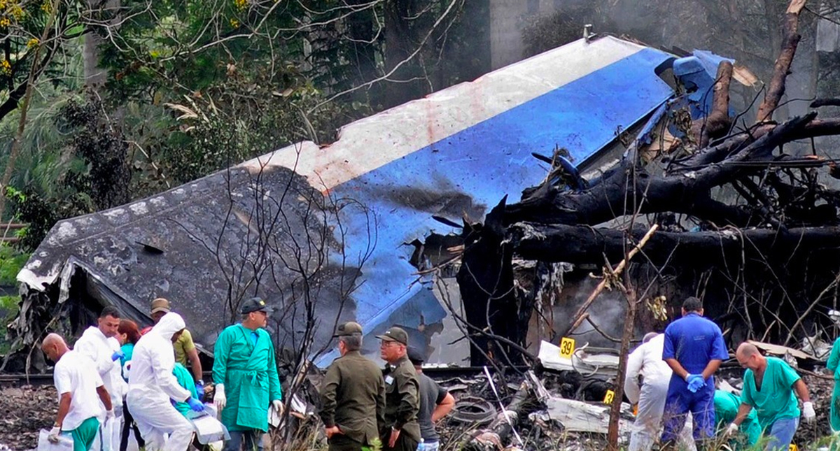 Error humano ocasionó caída de avión que dejó 112 muertos: Cuba