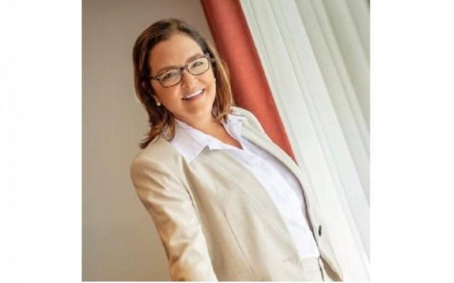 Presidente electo de El Salvador nombra a su canciller - Alexanda Hill Tinoco, futura canciller de El Salvador. Captura de pantalla