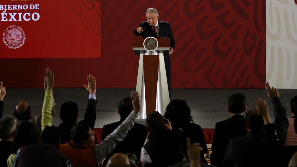 López Obrador no viajará a Puebla para conmemoración del 5 de mayo - Foto de Notimex