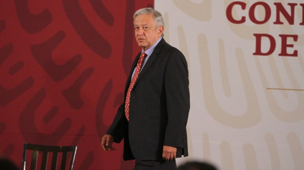 Conferencia de AMLO (23-05-2019) - Andrés Manuel López Obrador. Foto de Notimex- Oscar Ramírez.