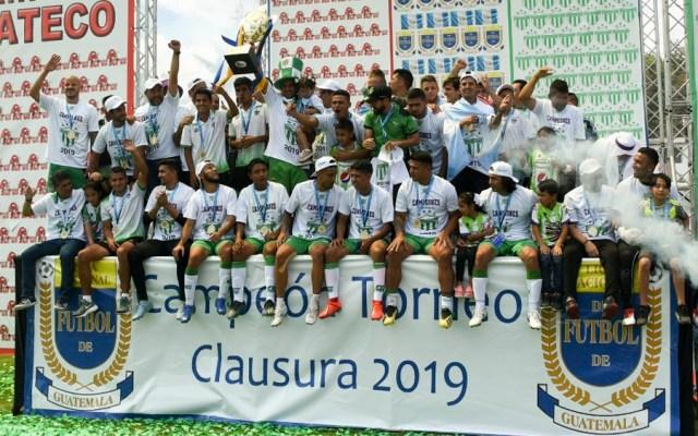 Antigua de Torres Servín se corona campeón en Guatemala - antigua guatemala