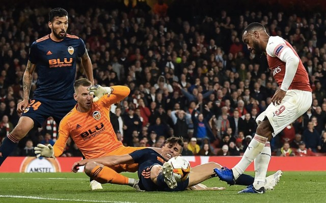 Arsenal vence al Valencia y se acerca a la final de la Europa League - Foto de @Arsenal