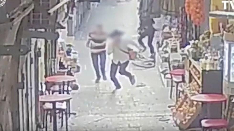 Ataque con cuchillo deja dos israelíes heridos en Jerusalén - ataque cuchillo Jerusalén