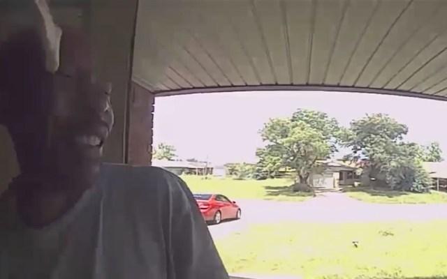 #Video Serpiente muerde la cara a hombre en Oklahoma - Ataque de serpiente a hombre. Captura de pantalla