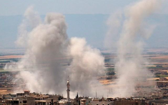 Ataques contra yihadistas dejan 13 civiles muertos en Siria - ataques siria
