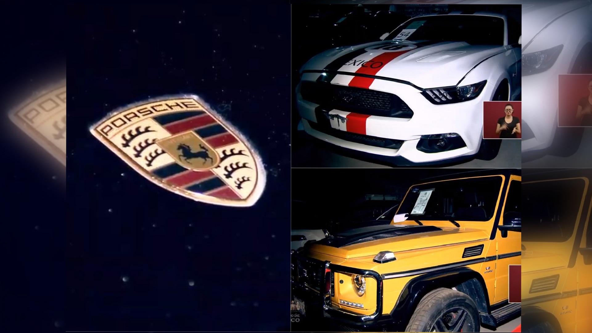 Autos que se subastarán en Los Pinos. Captura de pantalla / LDD