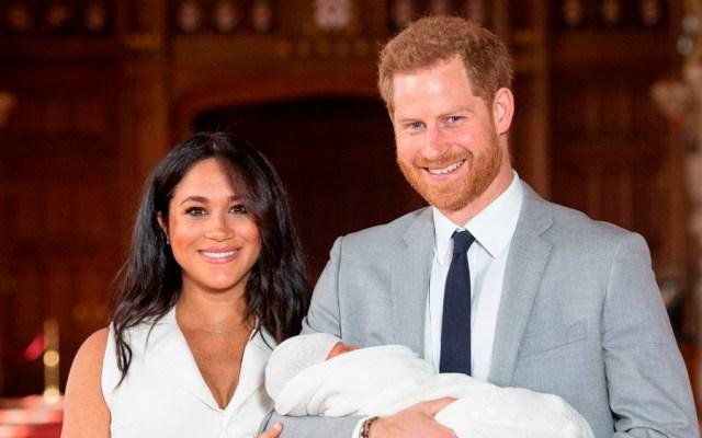Príncipe Harry y Meghan presentan a su primer hijo - hijo príncipe harry meghan markle
