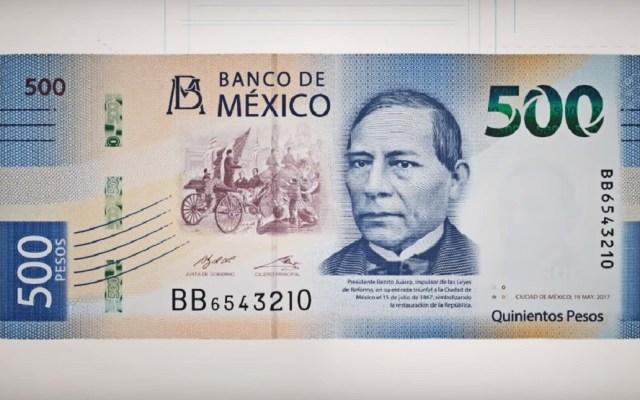 Benito Juárez se queda corto en concurso del billete más bonito - Billete de 500 pesos. Captura de pantalla / Banco de México