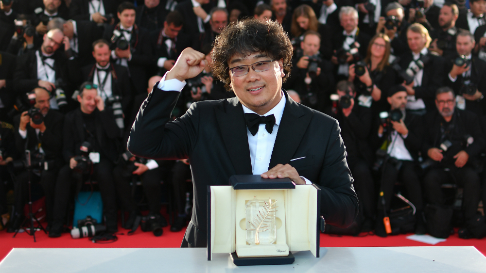 "La tragicomedia surcoreana ""Parásito"" es Palma de Oro del Festival de Cannes - Foto de AFP"