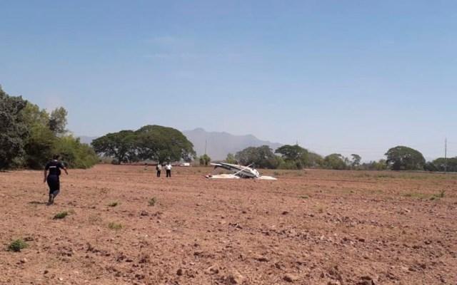 Accidente de avión pequeño en Jalisco - caida avión tomatlán jalisco