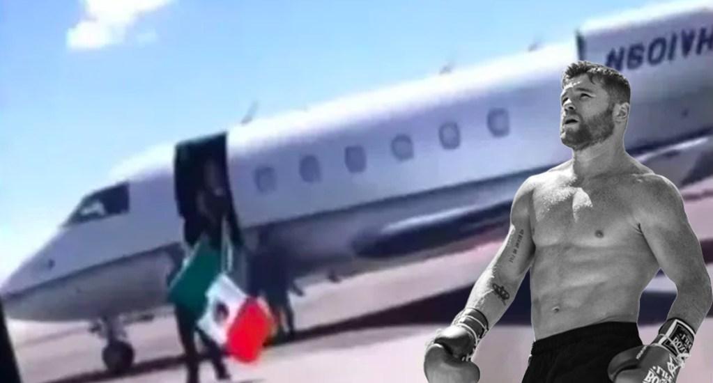 Canelo Álvarez lamenta desplome de jet en el que murieron 13 personas - canelo