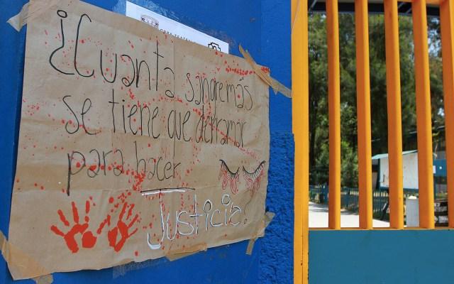 Bala que mató a alumna del CCH pudo entrar por una puerta: Godoy - Ernestina Godoy CCH Oriente alumna Aideé mendoza