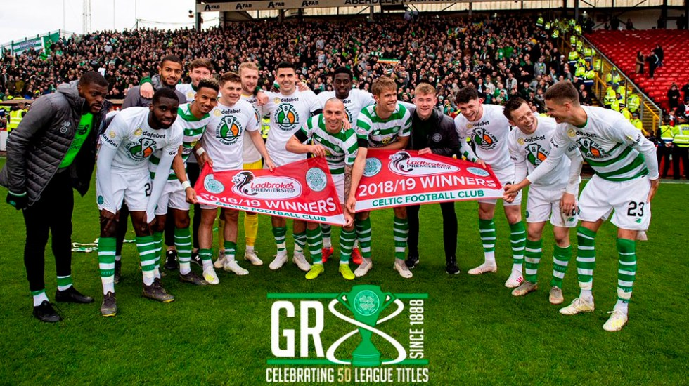 Celtic gana su octava liga escocesa consecutiva - celtic campeón Escocia