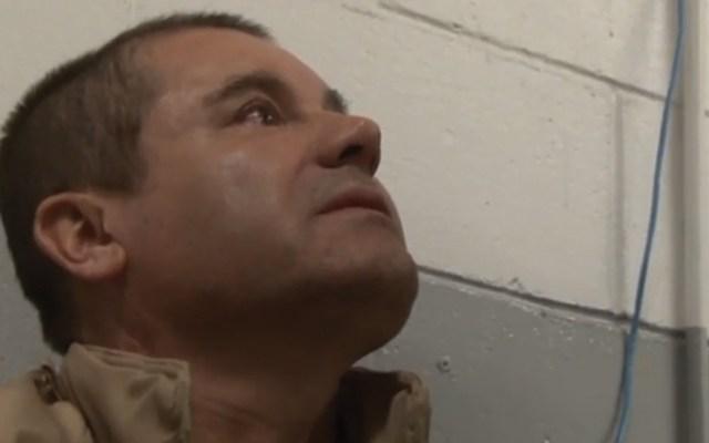 'El Chapo' quiere destinar su dinero a comunidades indígenas de México - 'El Chapo' Guzmás tras ser extraditado a EE.UU. Foto de DEA