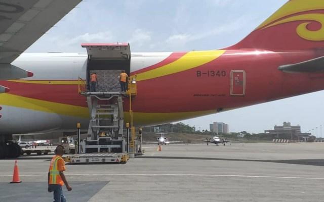 """China envía 71 toneladas de asistencia """"técnica humanitaria"""" a Venezuela - Foto de @Mippcivzla"""