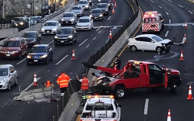 Choca automóvil con camioneta en Periférico - choque automóvil periférico y reforma