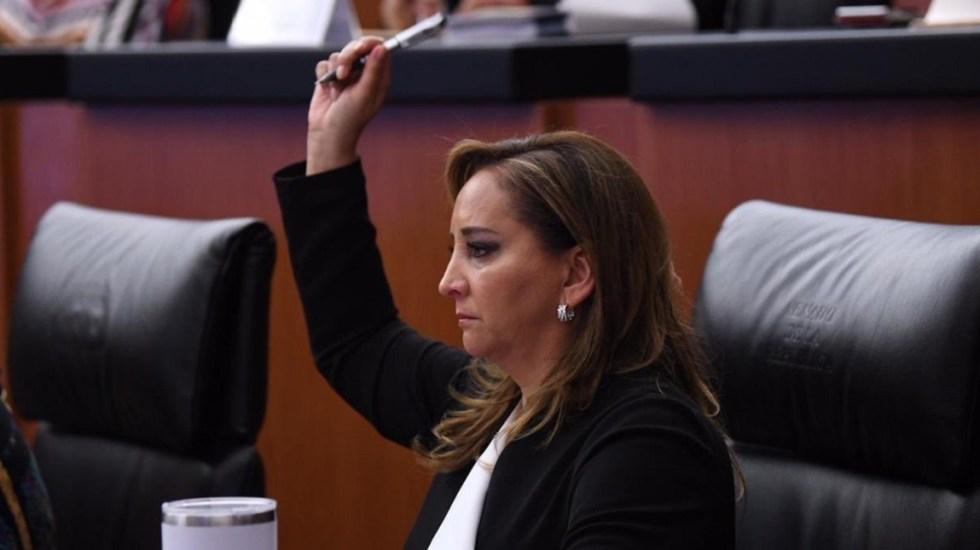Ruiz Massieu asegura que confía en la justicia en caso de asesinato de su padre - Claudia Ruiz Massieu. Foto de @ruizmassieu