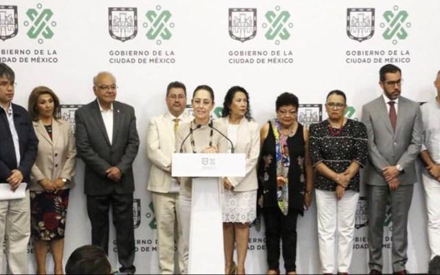 Gobierno de la CDMX dota de 'Senderos Seguros' a la UNAM e IPN - Conferencia de presentación de los Senderos Seguros. Foto de @GobCDMX
