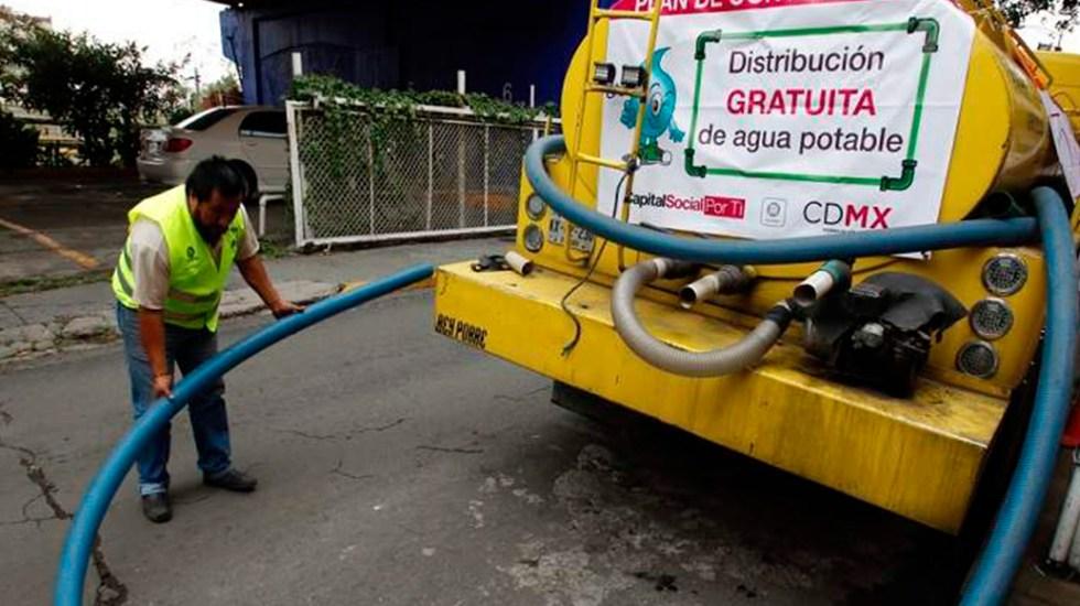 Ciudad de México enfrenta grave reto en agua potable y alcantarillado - Corte de Agua Cutzamala