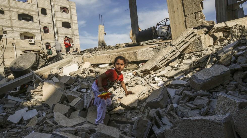 Continúa el fuego cruzado entre Israel y Gaza - crisis franja de gaza israel cohetes