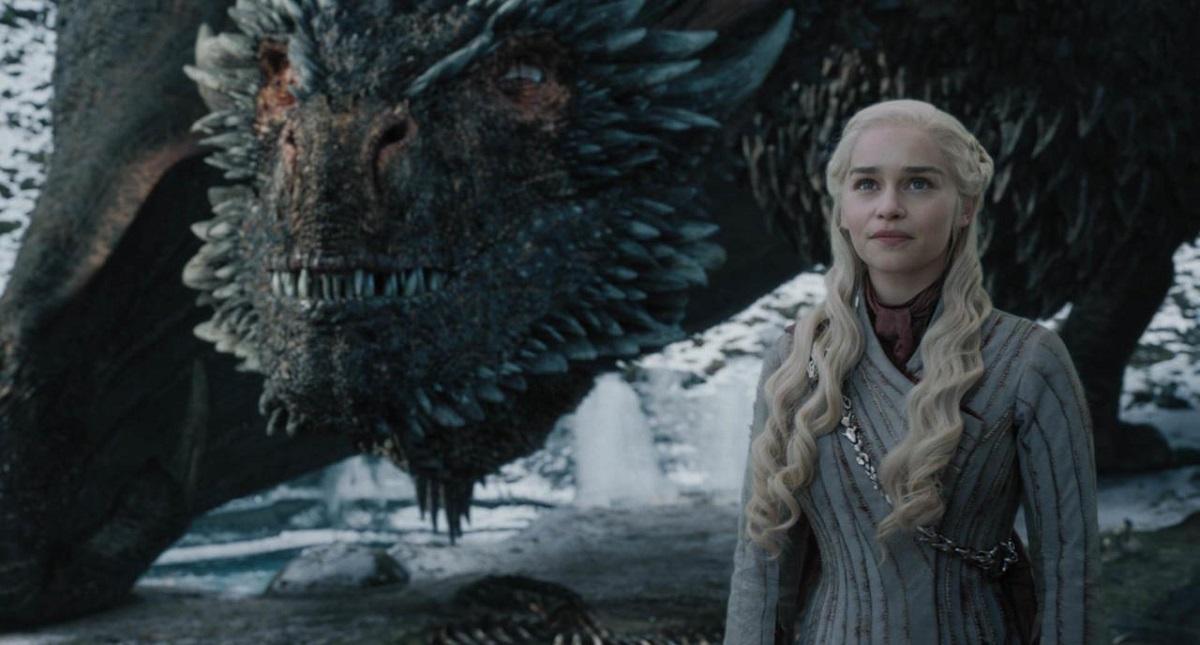 Daenerys Targaryen con Drogon. Foto de HBO