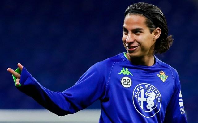 Diego Lainez en el Top 25 de futbolistas Sub 20 mejor cotizados - Lainez Betis