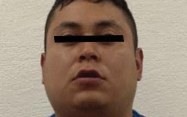 Detienen a 'El Mayín', integrante del Cártel de Tláhuac acusado de extorsión - Foto de Fiscalía General de Justicia del Estado de México