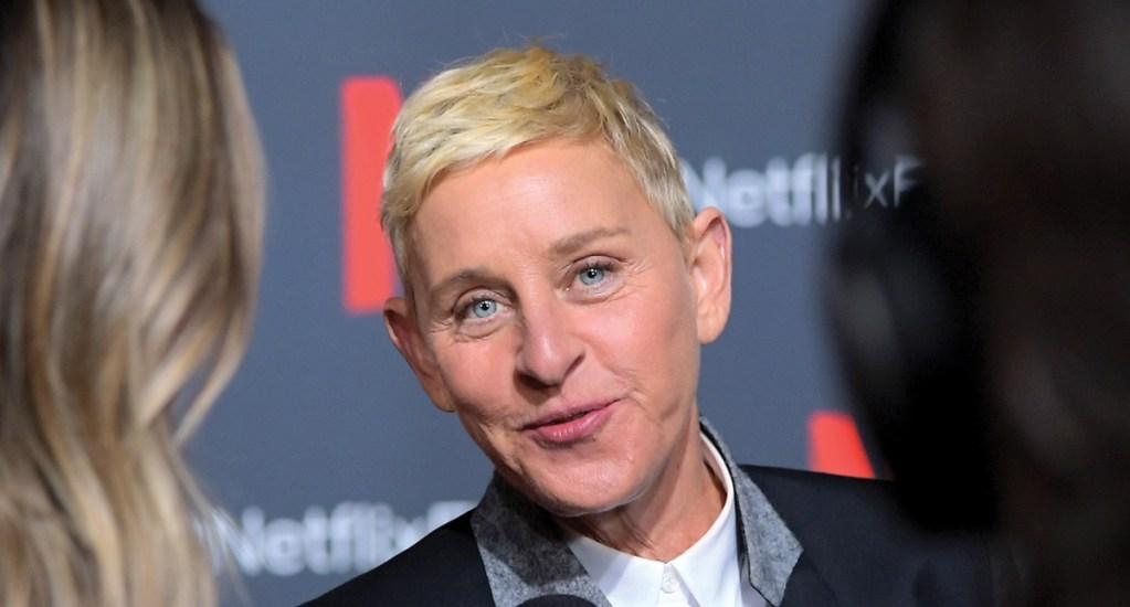 Ellen DeGeneres revela que su padrastro abusó de ella - Foto de AFP
