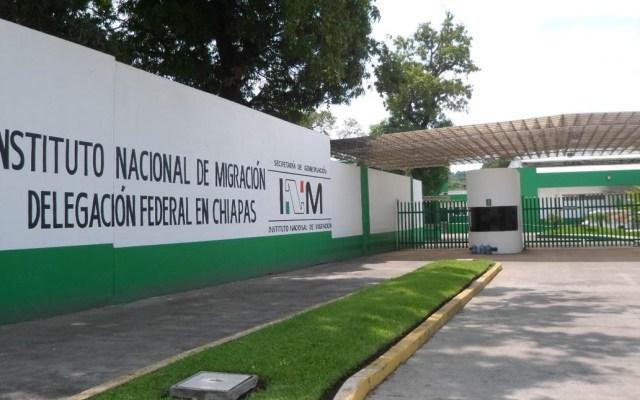 Muere migrante durante traslado a centro del INM en Chiapas - migrante estación migratoria san luis potosí