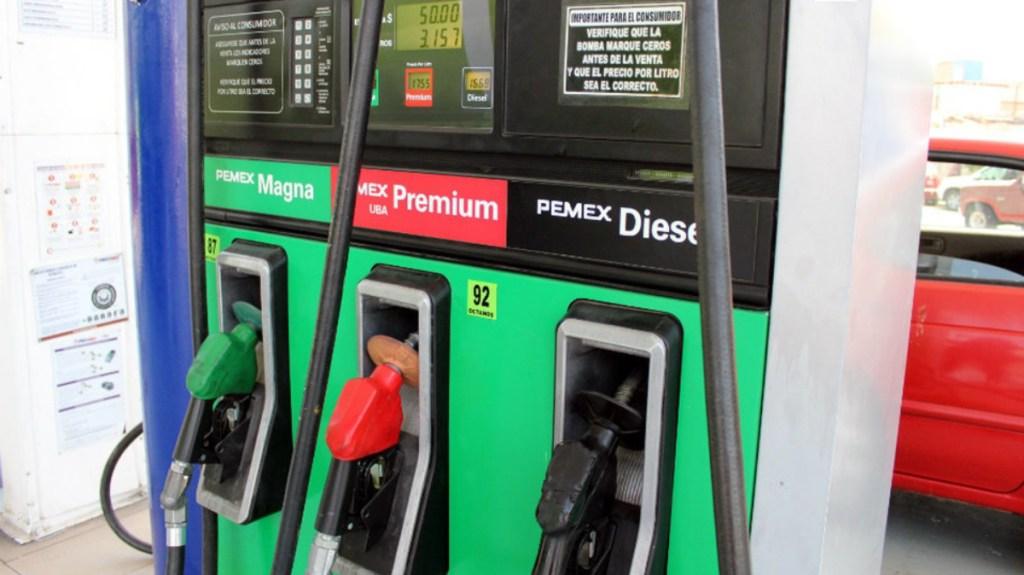Disminuye nuevamente estímulo a gasolinas - Gasolinas y Diésel continuarán sin estímulos fiscales, informa Hacienda