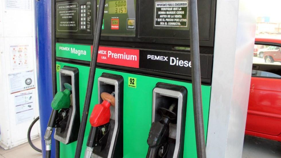 Disminuye nuevamente estímulo a gasolinas - Foto de Milenio