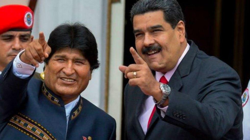 """""""No podemos comparar a Nicolás Maduro con Evo Morales"""": OEA - Maduro Evo Morales"""