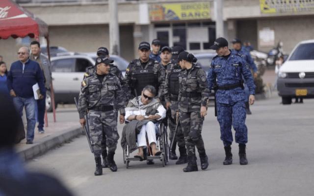 Exjefe de las FARC regresa a fiscalía de Colombia tras recibir atención médica - Foto de ColPrensa