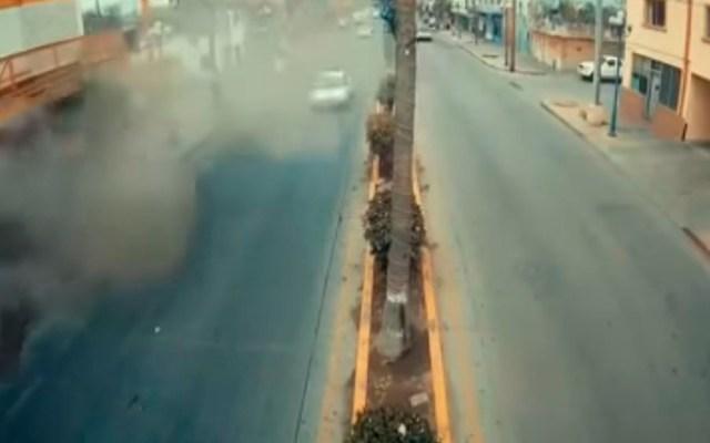 #Video Así ocurrió la explosión en hotel de Tijuana - explosión hotel tijuana