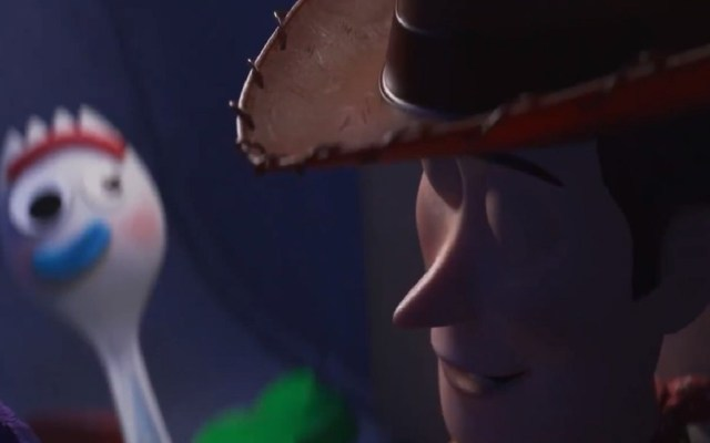 "#Video Disney presenta nuevo adelanto de ""Toy Story 4"" - Forky y Woody. Captura de pantalla"