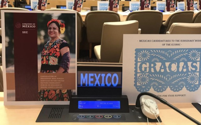 México gana en Nueva York cuatro candidaturas presentadas ante ONU - Foto de @MexOnu