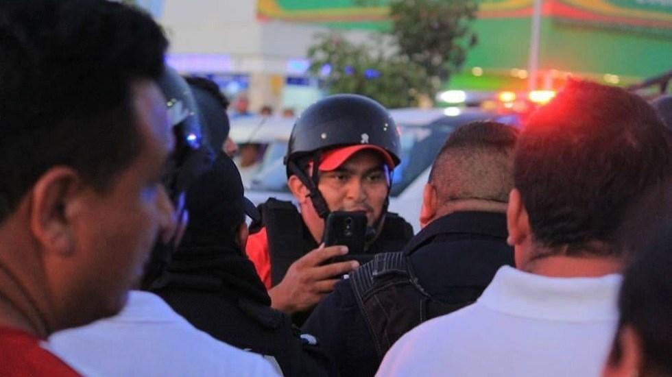 Asesinan de un tiro a periodista en Playa del Carmen - Francisco Romero. Foto de @PDesplazadosMX