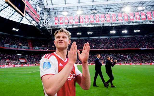 #Video Frenkie de Jong se despide del Ajax - Frenkie de Jong se despide del Ajax