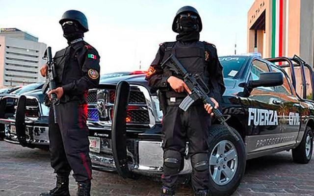 Muere policía de Fuerza Civil atacado en Monterrey - fuerza civil
