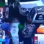 #Video Flamazo en gasolinera de Querétaro quema a padre e hija