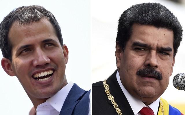 Delegados de Maduro y Guaidó se reunirán en Oslo - Juan Guaidó y Nicolás Maduro. Foto de AFP